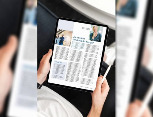 Zu meckern verschwendet Energie – Interview im IHK-Magazin 6/2021